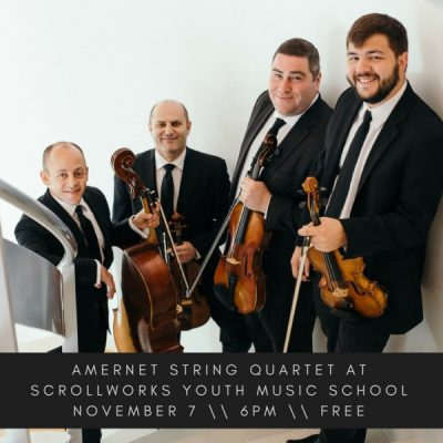 Amernet String Quartet at Scrollworks
