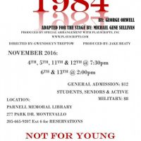 "Montevallo Main Street Players present ""1984"""