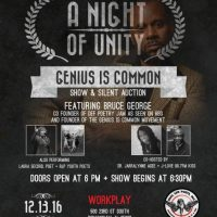 A Night of Unity: Genius is Common