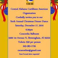 Caribbean Christmas Dinner Dance