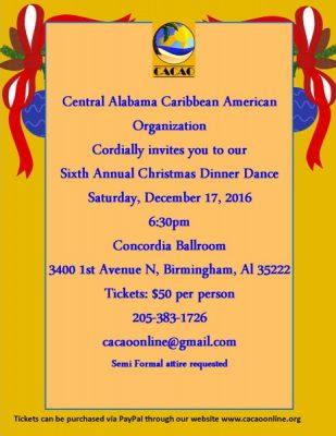Caribbean Christmas Dinner Dance