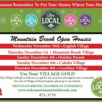 Cahaba Village Holiday Open House