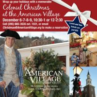 Colonial Christmas Lunch and Tour