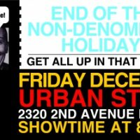 FRESH GROUND COMICS Non-Denominational Holiday Show!