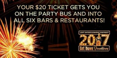 Get Down Downtown 2017 New Year's Eve Event