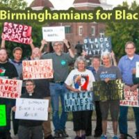 White Birminghamians for Black Lives witness