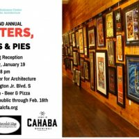Posters, Pints & Pies: Exhibit Opening Reception