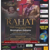 Ustad Rahat Fateh Ali Khan - The Tribute Tour 2017