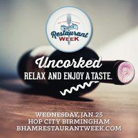 Uncorked presented by Winter Restaurant Week 2017