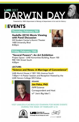 """Joe Palca Presents """"Science and News: A Marriage of Convenience"""""""