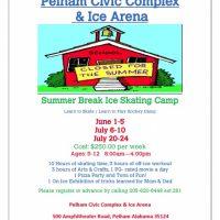 Summer Break Ice Skating Camp 2015