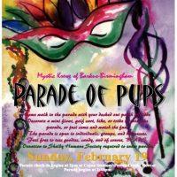 Shelby Humane Society Mardi Gras Parade of Pups