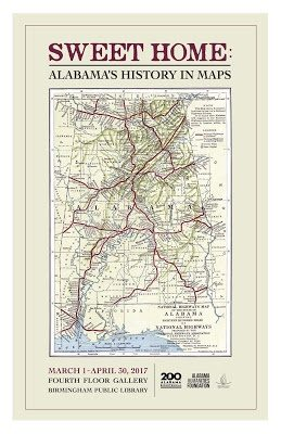 Sweet Home: Alabama's History in Maps Exhibit
