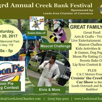 23rd Annual Creek Bank Festival