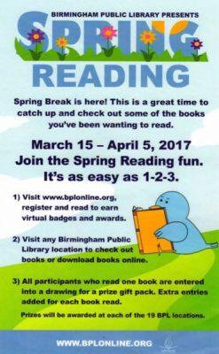 Spring Reading Challenge