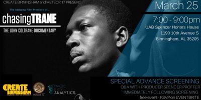 Chasing Trane Special Screening // Q&A with Producer Spencer Proffer