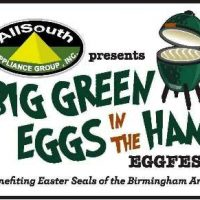 Big Green Eggs in the 'Ham