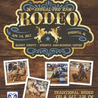 36th Annual Pro RAM Rodeo