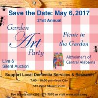 Alzheimer's of Central Alabama Garden Art Party