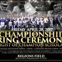 Ramsay Championship Ring Ceremony | Night of Champion Scholars