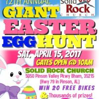 12th Annual Giant Egg Hunt