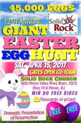 12th Annual Giant Egg Hunt