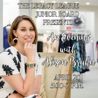 """An Evening with Alison Bruhn"""