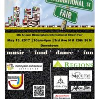 5th Annual Birmingham International Street Fair