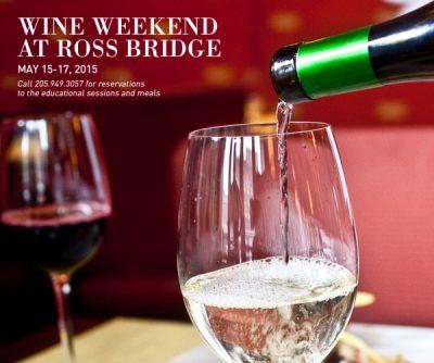 Ross Bridge Resort Wine Weekend to benefit Hope for Autumn Foundation