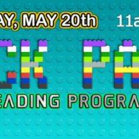 Block Party: Summer Reading Kick-Off!