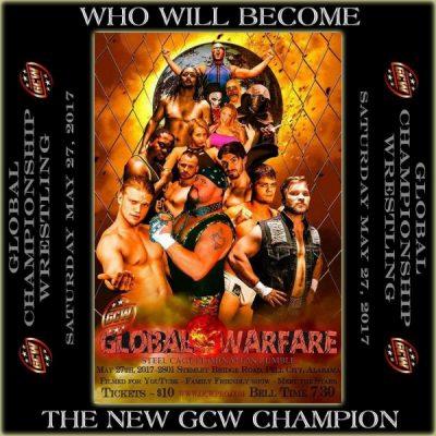 Global Warfare - GCW Championship Wrestling - Steel Cage Event