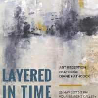 'Layered in Time' - Art Reception featuring Diane Hathcock