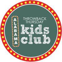 Throwback Thursday Kids Club