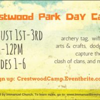 Crestwood Park Day Camp