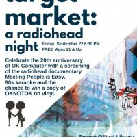 Standing Room Only presents Target Market: a Radiohead night