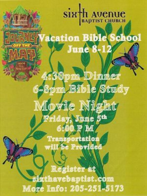 Sixth Avenue Baptist Church-Vacation Bible School