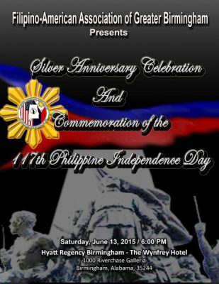 FAAGB Silver Anniversary and 117th Philippine Independence Day Celebration