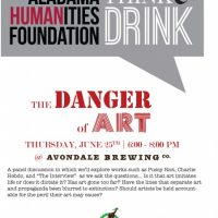Think & Drink: The Danger of Art