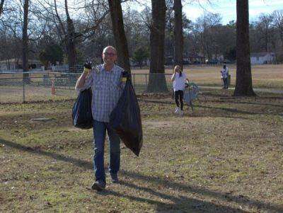 Village Creek/East Lake Park Cleanup