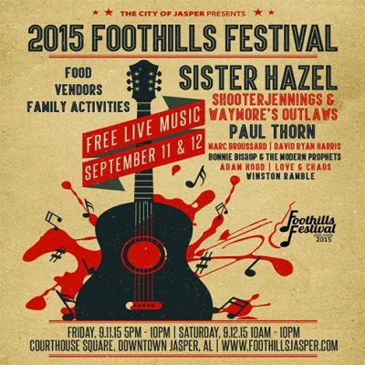 City of Jasper, Al Foothills Festival