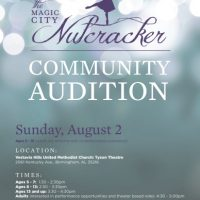 Magic City Nutcracker Auditions