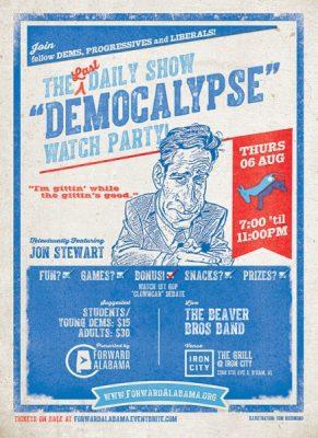 Last Jon Stewart/First GOP Clown Car Debate Watch ...
