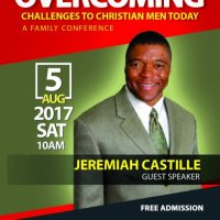 Overcoming Challenges to Christian Men Today: A Family Conference