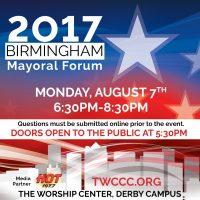 2017 Birmingham Mayoral Candidates Forum