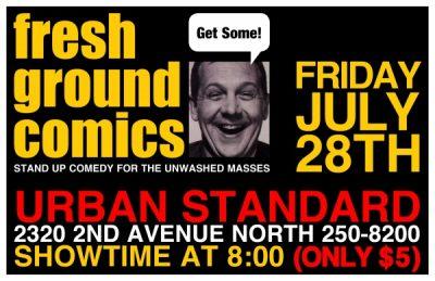 Fresh Ground Comics!