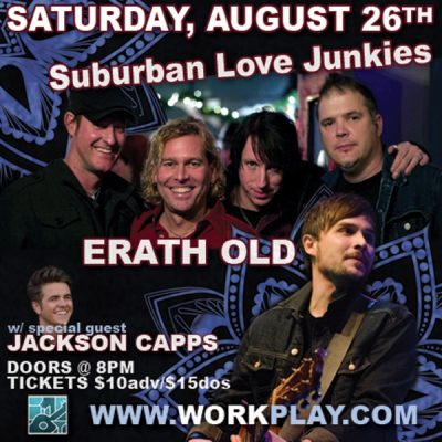 Suburban Love Junkies and Erath Old w/ special gue...