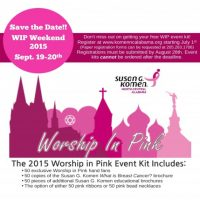 Worship in Pink Luncheon