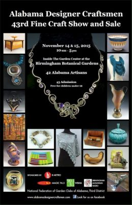 Alabama Designer Craftsmen's Annual Fine Crafts Show