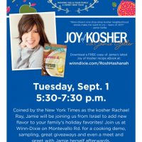 Kosher food celebrity preps for Jewish New Year  with cooking demonstration at Birmingham Winn-Dixie