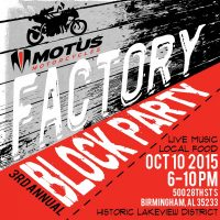 Motus Motorycycles Factory Block Party
